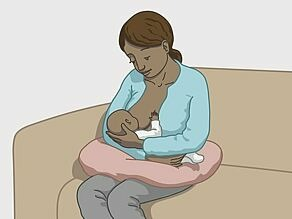 Ways of HIV transmission: from mother to child during pregnancy or delivery or when breast-feeding